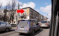 Брандмауэр №10018 в городе Донецк (Донецкая область), размещение наружной рекламы, IDMedia-аренда по самым низким ценам!