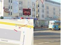 Экран №100890 в городе Одесса (Одесская область), размещение наружной рекламы, IDMedia-аренда по самым низким ценам!