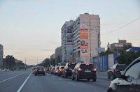 Брандмауэр №105587 в городе Днепр (Днепропетровская область), размещение наружной рекламы, IDMedia-аренда по самым низким ценам!