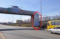 Брандмауэр №105633 в городе Днепр (Днепропетровская область), размещение наружной рекламы, IDMedia-аренда по самым низким ценам!