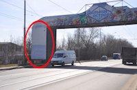 Брандмауэр №105634 в городе Днепр (Днепропетровская область), размещение наружной рекламы, IDMedia-аренда по самым низким ценам!