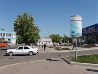 Ситилайт №105848 в городе Павлоград (Днепропетровская область), размещение наружной рекламы, IDMedia-аренда по самым низким ценам!