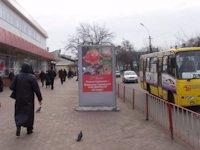 Ситилайт №105853 в городе Павлоград (Днепропетровская область), размещение наружной рекламы, IDMedia-аренда по самым низким ценам!