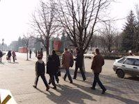 Ситилайт №105857 в городе Павлоград (Днепропетровская область), размещение наружной рекламы, IDMedia-аренда по самым низким ценам!