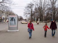 Ситилайт №105862 в городе Павлоград (Днепропетровская область), размещение наружной рекламы, IDMedia-аренда по самым низким ценам!