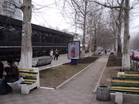 Ситилайт №106378 в городе Черноморск(Ильичевск) (Одесская область), размещение наружной рекламы, IDMedia-аренда по самым низким ценам!