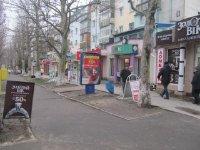 Ситилайт №106381 в городе Черноморск(Ильичевск) (Одесская область), размещение наружной рекламы, IDMedia-аренда по самым низким ценам!