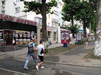 Ситилайт №106384 в городе Черноморск(Ильичевск) (Одесская область), размещение наружной рекламы, IDMedia-аренда по самым низким ценам!