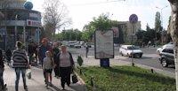 Ситилайт №106396 в городе Черноморск(Ильичевск) (Одесская область), размещение наружной рекламы, IDMedia-аренда по самым низким ценам!