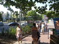 Ситилайт №106399 в городе Черноморск(Ильичевск) (Одесская область), размещение наружной рекламы, IDMedia-аренда по самым низким ценам!