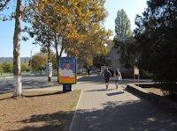 Ситилайт №106411 в городе Черноморск(Ильичевск) (Одесская область), размещение наружной рекламы, IDMedia-аренда по самым низким ценам!