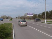 Билборд №115740 в городе Горишние Плавни(Комсомольск) (Полтавская область), размещение наружной рекламы, IDMedia-аренда по самым низким ценам!