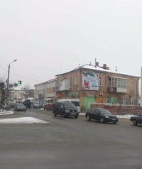 Брандмауэр №118614 в городе Ковель (Волынская область), размещение наружной рекламы, IDMedia-аренда по самым низким ценам!