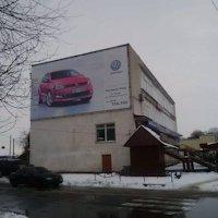 Брандмауэр №118628 в городе Владимир-Волынский (Волынская область), размещение наружной рекламы, IDMedia-аренда по самым низким ценам!