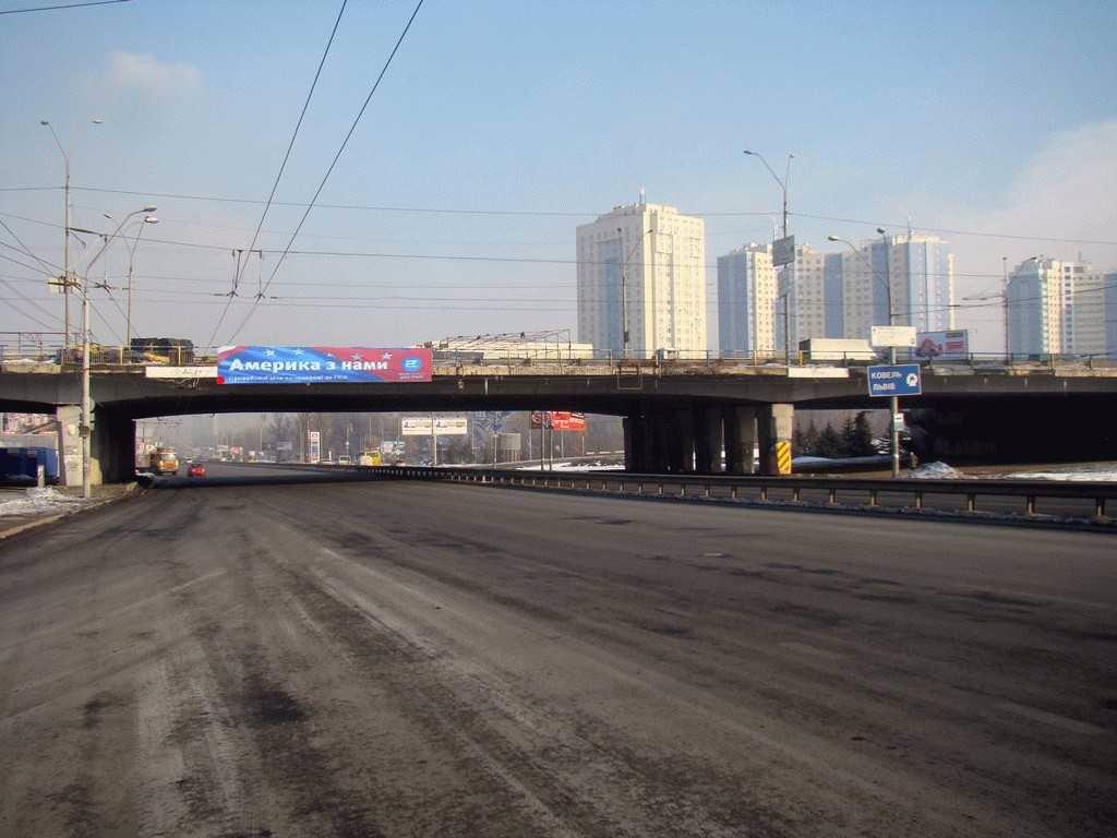 Арка №124661 в городе Киев (Киевская область), размещение наружной рекламы, IDMedia-аренда по самым низким ценам!