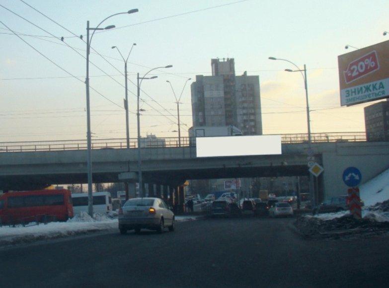 Арка №124683 в городе Киев (Киевская область), размещение наружной рекламы, IDMedia-аренда по самым низким ценам!