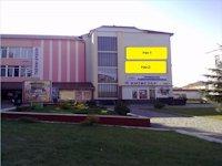 Брандмауэр №126469 в городе Тячев (Закарпатская область), размещение наружной рекламы, IDMedia-аренда по самым низким ценам!