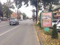 Ситилайт №126676 в городе Ужгород (Закарпатская область), размещение наружной рекламы, IDMedia-аренда по самым низким ценам!