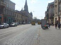 Ситилайт №131305 в городе Львов (Львовская область), размещение наружной рекламы, IDMedia-аренда по самым низким ценам!