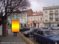 Ситилайт №133444 в городе Мукачево (Закарпатская область), размещение наружной рекламы, IDMedia-аренда по самым низким ценам!