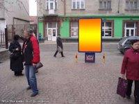 Ситилайт №133445 в городе Мукачево (Закарпатская область), размещение наружной рекламы, IDMedia-аренда по самым низким ценам!