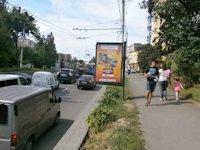 Ситилайт №141137 в городе Винница (Винницкая область), размещение наружной рекламы, IDMedia-аренда по самым низким ценам!