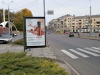 Ситилайт №141140 в городе Винница (Винницкая область), размещение наружной рекламы, IDMedia-аренда по самым низким ценам!
