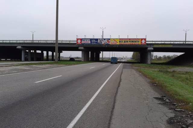Арка №141308 в городе Днепр (Днепропетровская область), размещение наружной рекламы, IDMedia-аренда по самым низким ценам!