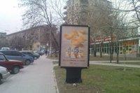 Ситилайт №141493 в городе Запорожье (Запорожская область), размещение наружной рекламы, IDMedia-аренда по самым низким ценам!