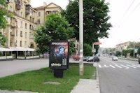 Ситилайт №141500 в городе Запорожье (Запорожская область), размещение наружной рекламы, IDMedia-аренда по самым низким ценам!