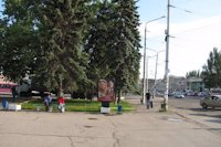Ситилайт №141502 в городе Запорожье (Запорожская область), размещение наружной рекламы, IDMedia-аренда по самым низким ценам!