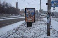 Ситилайт №141503 в городе Запорожье (Запорожская область), размещение наружной рекламы, IDMedia-аренда по самым низким ценам!