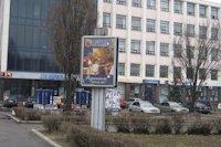 Ситилайт №141521 в городе Запорожье (Запорожская область), размещение наружной рекламы, IDMedia-аренда по самым низким ценам!