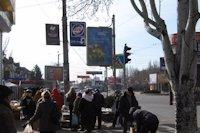 Ситилайт №141665 в городе Кривой Рог (Днепропетровская область), размещение наружной рекламы, IDMedia-аренда по самым низким ценам!