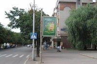 Ситилайт №141678 в городе Кривой Рог (Днепропетровская область), размещение наружной рекламы, IDMedia-аренда по самым низким ценам!