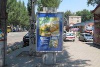 Ситилайт №141704 в городе Кривой Рог (Днепропетровская область), размещение наружной рекламы, IDMedia-аренда по самым низким ценам!