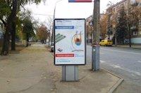 Ситилайт №141727 в городе Кривой Рог (Днепропетровская область), размещение наружной рекламы, IDMedia-аренда по самым низким ценам!