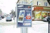 Ситилайт №141849 в городе Луцк (Волынская область), размещение наружной рекламы, IDMedia-аренда по самым низким ценам!