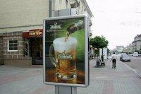 Ситилайт №141860 в городе Луцк (Волынская область), размещение наружной рекламы, IDMedia-аренда по самым низким ценам!