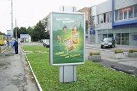 Ситилайт №141877 в городе Луцк (Волынская область), размещение наружной рекламы, IDMedia-аренда по самым низким ценам!