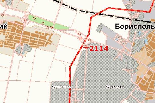 IDMedia Арендовать и разместить Бэклайт в городе Киев трасса (Киевская область) №145079 схема
