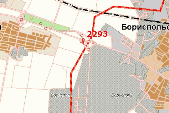 IDMedia Арендовать и разместить Бэклайт в городе Киев трасса (Киевская область) №145082 схема