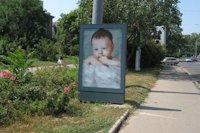 Ситилайт №145154 в городе Одесса (Одесская область), размещение наружной рекламы, IDMedia-аренда по самым низким ценам!