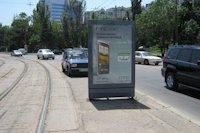 Ситилайт №145156 в городе Одесса (Одесская область), размещение наружной рекламы, IDMedia-аренда по самым низким ценам!