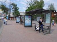 Ситилайт №145174 в городе Одесса (Одесская область), размещение наружной рекламы, IDMedia-аренда по самым низким ценам!
