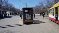 Ситилайт №145273 в городе Одесса (Одесская область), размещение наружной рекламы, IDMedia-аренда по самым низким ценам!