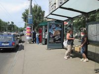 Ситилайт №145716 в городе Одесса (Одесская область), размещение наружной рекламы, IDMedia-аренда по самым низким ценам!