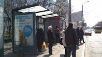 Ситилайт №145717 в городе Одесса (Одесская область), размещение наружной рекламы, IDMedia-аренда по самым низким ценам!
