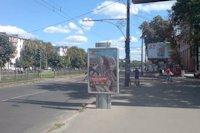 Ситилайт №145916 в городе Полтава (Полтавская область), размещение наружной рекламы, IDMedia-аренда по самым низким ценам!