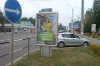 Ситилайт №145921 в городе Полтава (Полтавская область), размещение наружной рекламы, IDMedia-аренда по самым низким ценам!
